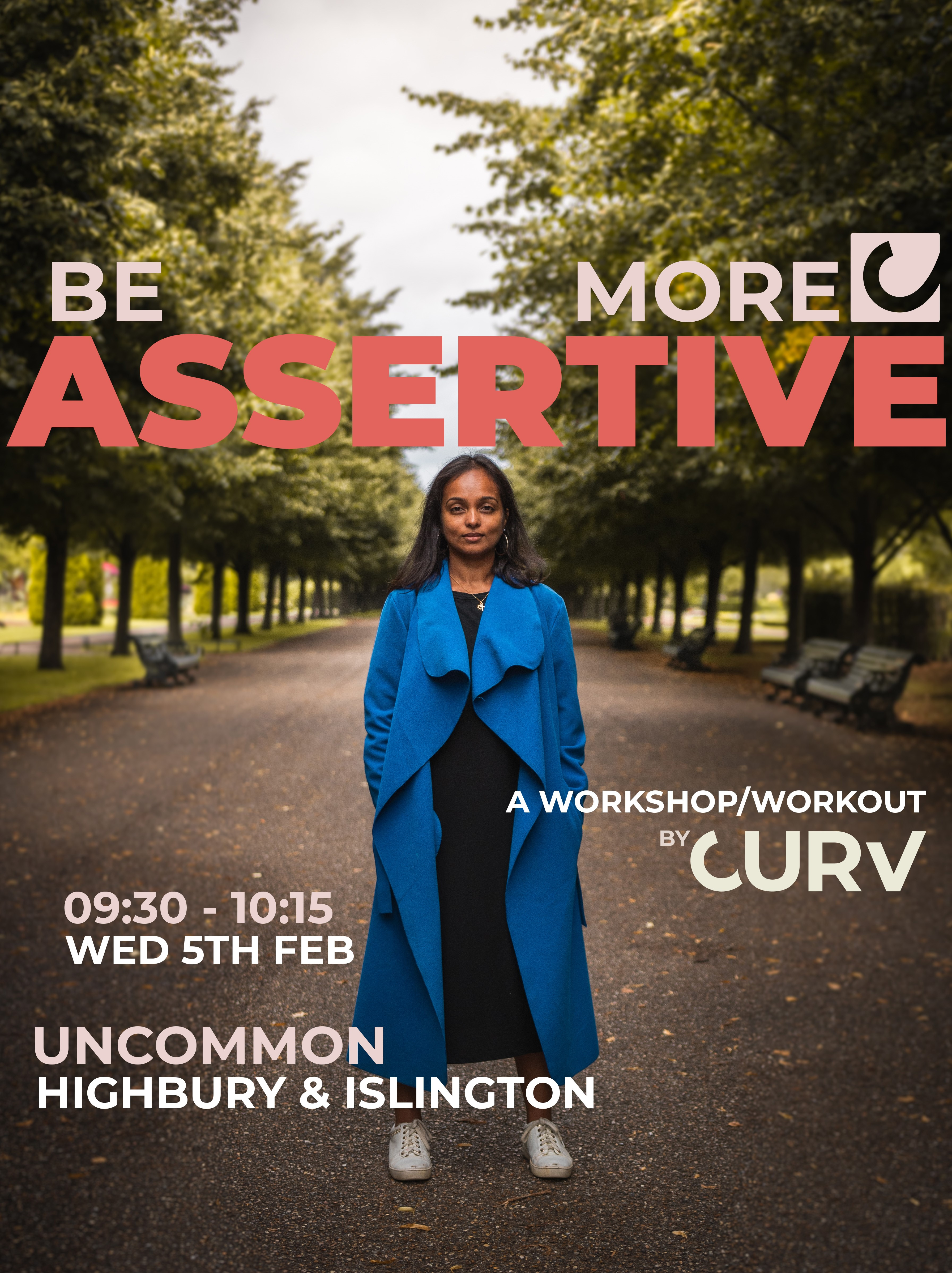 BE MORE ASSERTIVE - a workshop / workout by CURV